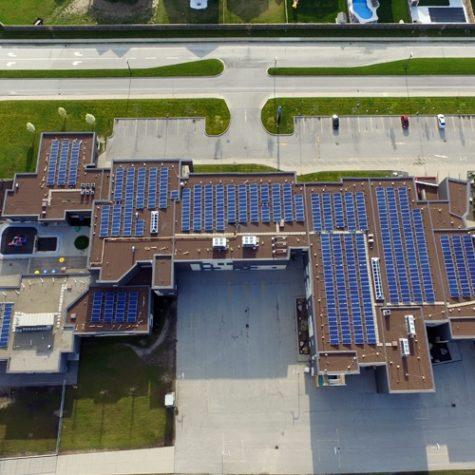 TGR Flat Roof Mounting System</br> 230.58 kWp</br> 5 & 10 Degree Tilt Angles