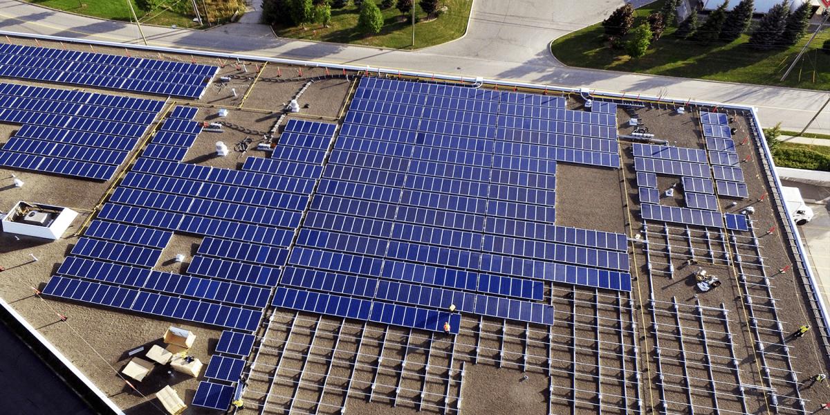TerraGen Solar Offers Flat Roof Solar Racking Solutions